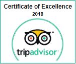 La Roca Guesthouse - Trip Advisor 2018 Excellence Badge